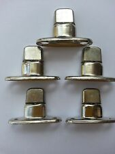 Boat canopy fittings Turnbuttons, 2 hole base, double height, x5