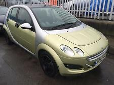 2005 Smart forfour 1.3 Semi-A Passion MOT STARTS+DRIVES SPARES OR REPAIRS