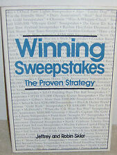 Winning Sweepstakes: The Proven Strategy