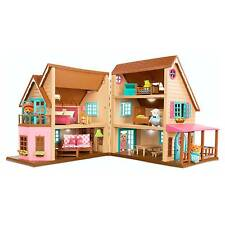 Li'l Woodzeez Honeysuckle Hillside Cottage Plastic 26-piece