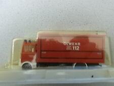 Busch Praline altes Modell MB 809 D Koffer LKW Ölwehr  OVP (342)