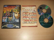 AGE OF EMPIRES II GOLD EDITION Pc Base game 2 + THE CONQUERORS Add-On Expansion