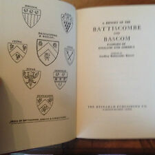 A History of the Battiscombe and Bascom Families of England and America