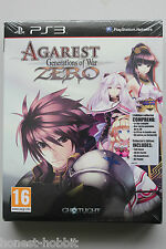 NEW SEALED Agarest: Generations of War Zero Collector's Edition PS3 PlayStation