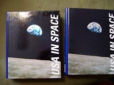 USA IN SPACE VOL. 1 AND 2 SECOND EDITION 2001 HARD COVER SALEM PRESS