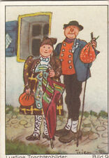 N°9 Jacket Veste Dress Robe Dingolfinger Funny costumes Germany IMAGE CARD 60s