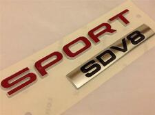 Nouveau authentique range rover sport insigne SDV8 * rear boot badge * latest 2014