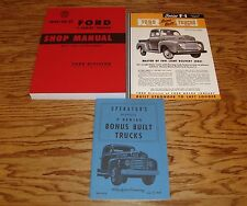 1949 Ford F-Series Truck Shop Service Manual Owners Manual Sales Brochure Lot 49
