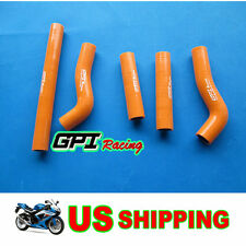 Silicone Radiator Hose Kit/Line  KTM 250SXF 250SX-F 06 2006,orange