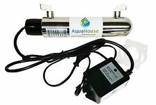 Ultra Violet 12W UV Water Treatment System 4lpm Under Sink Steriliser Filter