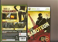 SABOTEUR XBOX 360 / X BOX 360 STEALTH GAME
