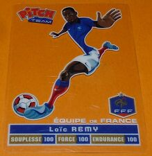 LOÏC REMY CARTE PITCH TEAM PASQUIER FOOTBALL EQUIPE FRANCE 2012 FFF PANINI