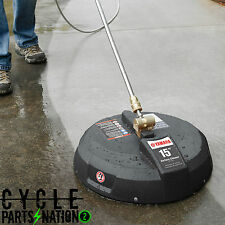 "Yamaha 15"" Power Pressure Washer Surface Concrete Patio Cleaner ACC-31056-00-13"