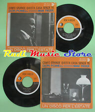 LP 45 7'' DON POWELL Com'e'grande questa casa senza te Mani fredde no cd mc dvd