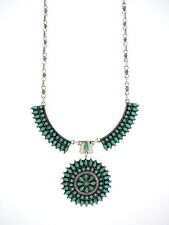Zuni Petit Point Inlay Turquoise Necklace Priced to SELL-Best Offer