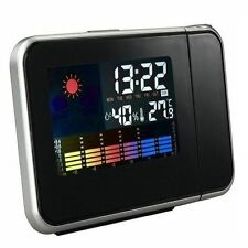 Electronic Digital Projector Alarm Clock with LED Display Temp Weather Station