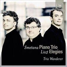 SMETANA Piano Trio / LISZT Elegies TRIO WANDERER CD Harmonia Mundi HMC 90206