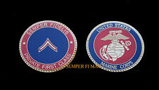 PRIVATE FIRST CLASS PFC US MARINES CHALLENGE COIN USMC BOOT CAMP GRADUATION GIFT