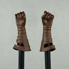 1/6 Scale Phicen Stainess Steel Red Sonja Female Leather Glove Closed Hand Set