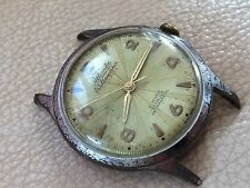 VINTAGE ATLANTIC WELTMEISTER WATCH 21 JEWELS WATERPROOF MANUAL WINDING