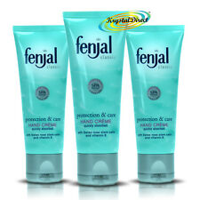 3x Fenjal Protection Care Vitamin E Hand Moisturising Soft Creme Cream 50ml