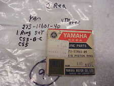 YAMAHA ,NOS,OEM,CS3,CS5, 250, (1) PISTON RINGS ,273-11601-40,STD SIZE, NEW, #97