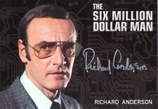 Complete Bionic Collection Richard Anderson / Six Million Dollar Man Silver Auto