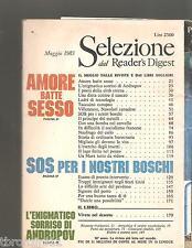 SELEZIONE DAL READER'S DIGEST - MAGGIO 1983