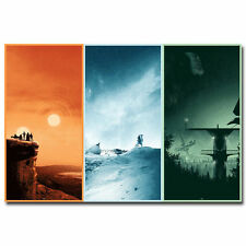Star Wars 7 Movie Minimalist Art Silk Poster 24x36inch