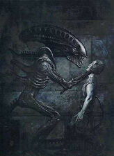 Dark Horse John Bolton Aliens:Earth Wars Signed LTD Lithograph from 1991
