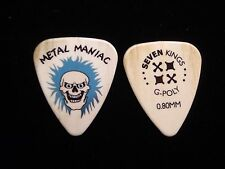 METAL MANIAC 5 PIECE GUITAR PICK PICKS CHRISTMAS GIFT 0508 SEVEN KINGS