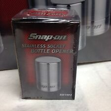 Snap-On Tools Stainless Steel Socket Shaped Bottle Opener SSX14P3 BRAND NEW!!!