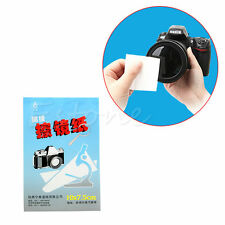 3X 50 Sheets Soft Camera Lens Optics Tissue Clean Cleaning Paper Wipes Booklet