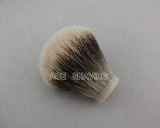 Knot Size 26mm Finest Badger Hair Shaving Brush Head Free Shipping