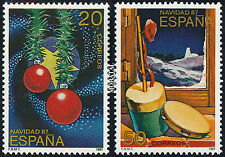 Spain Stamps - 1987 Christmas In MNH Condition