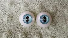 Acrylic Cat Eyes BLUE 22mm for Reborn Horror Unusual Doll Baby Making