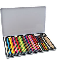 Colored Pencil Drawing Set in Storage Tin 36 piece Royal Langnickel