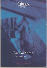 Programme Opéra Bastille La Bohême Giacomo Puccini 1995 - 1996
