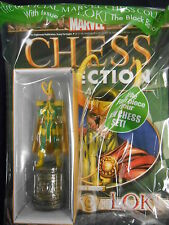 "MARVEL CHESS FIGURINE COLLECTION #4. ""LOKI"" BLACK BISHOP (EAGLEMOSS) NEW!"