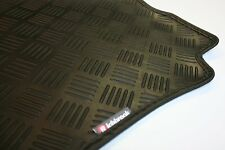 Mercedes M Class (98-05) Richbrook Black 3mm Rubber Car Mats - Leather Trim