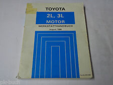 Werkstatthandbuch Toyota Hilux Motor 2,4 / 2,8 L / Vierzylinder Stand 08/1988