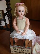 Gorgeous Antique 1885-1889's Original French Doll Size11 Jumeau w Original Box.