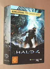 Halo 4 Exclusive German Pre-Order-Box includes a T-Shirt New & Sealed very Rare