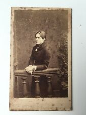 Victorian Carte De Visite CDV Photo - Phillips - Biggleswade Beds  - Lady