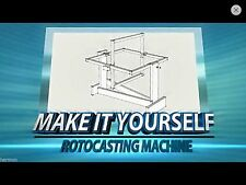 Plans - DIY Rotocaster Rotocasting Machine - Cast Resin, Plaster, Latex, Etc...