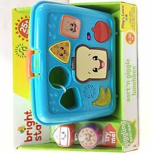 Bright Starts Giggling Gourmet Sort 'n Giggle Lunchbox - baby toddler toy