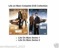 LIFE ON MARS COMPLETE SERIES 1 + 2 DVD in 2 Boxes Brand New Sealed UK Release
