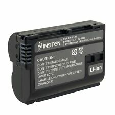 EN-EL15 ENEL15 Battery for Nikon D600 D800 D800E D7000 V1 MB-D11 MB-D12