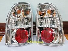 TAIL LIGHTS LAMP PAIR NEW DONUT STYLE FOR MITSUBISHI L200 STRADA PICKUP 95-04 98