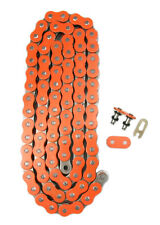 Orange 520x118 O-Ring Drive Chain ATV Motorcycle MX 520 Pitch 118 Links